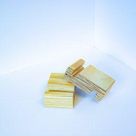 Support en bois pour téléphone intelligent et tablette